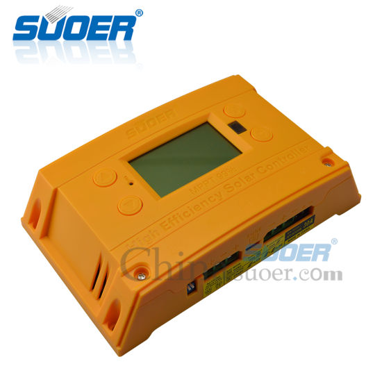 Suoer High Efficiency 12 V 24 V 30A 2 USB MPPT Solar Charge Regulator Controller pictures & photos