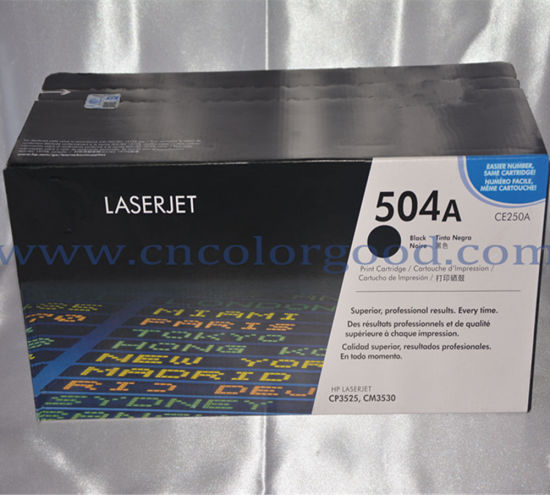 504A/Ce250A Series Toner Cartridge for HP Laser Printer Quality Products