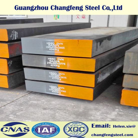 Hot Work Tool Steel Sheet and Plate 1.2344 H13 SKD61 (Thickness 16-300mm)