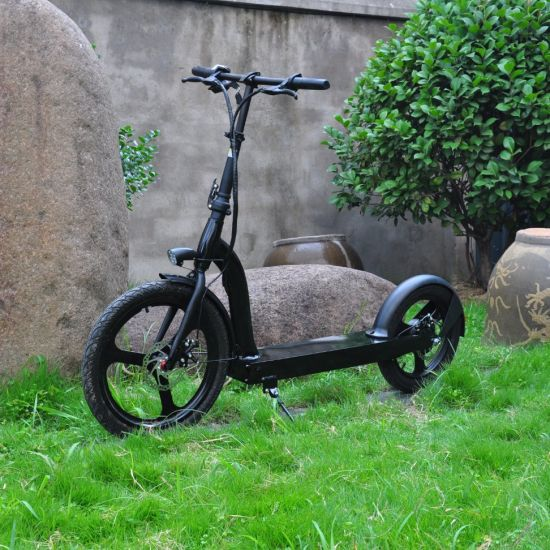 China Cheap Kick Scooters 20 Inch 350 500W Two Wheels Motor Removable Battery Foldable Folding Powered off Road Electric Scooter