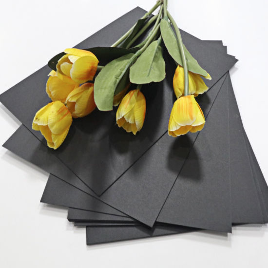 Hot Sale Exquisite Black Brista Paper Board/ Cardboard/Millboard Factory Sale