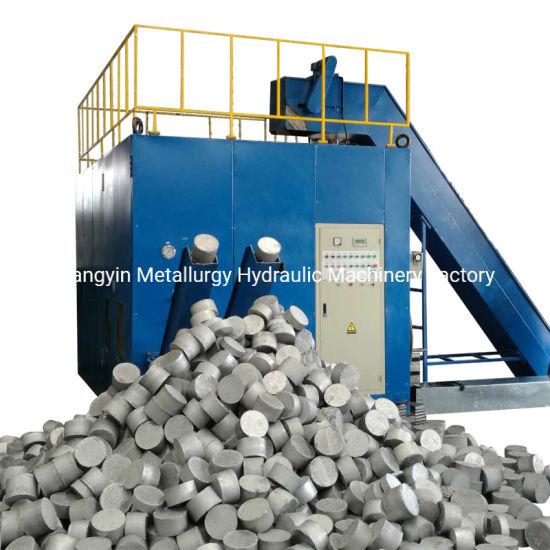 Y83W-dB30 Double Discharge Aluminum Granules Scraps Block Making Machine