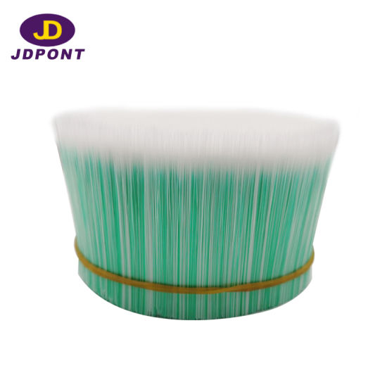 White Green Cross-Section Tapered Brush Filament Jdfmc300# pictures & photos