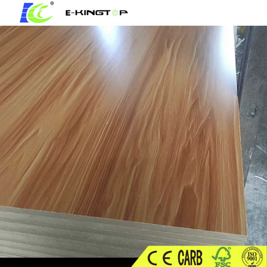 Low Price Melamine MDF 2440mmx1220mmx3.0mm with Carb P2 Certification