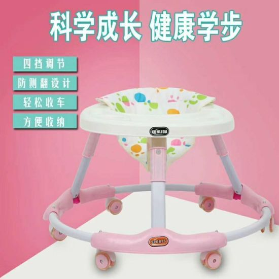 High Quality New Style More Dinner Plate Baby Walker Bw-10 pictures & photos