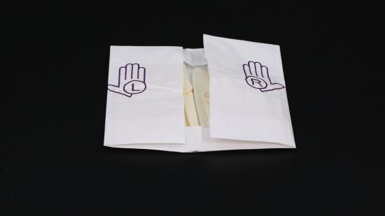 Operating Examination Disposable Sterile Clinical Powder-Free Latex Gloves
