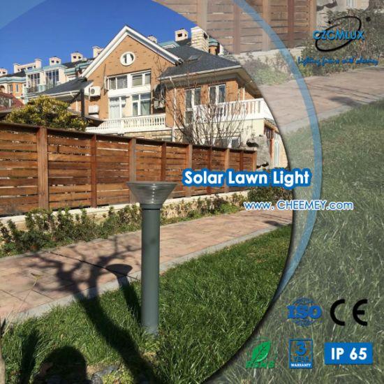 LED Solar Bollard Light with Lithium Battery for Garden
