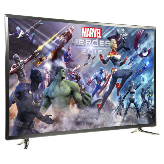 """Slim and Classic Metal Case 4K and UHD 42"""" LED TV with Android System Can Play Youtube and Netflix, 42 Inch TV, Flat Screen TV, LCD TV, Television Low Price"""