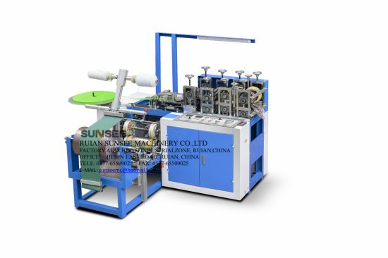 Sunsee Full-Auto PE Shoes Cover Making Machine with Ultrasonic