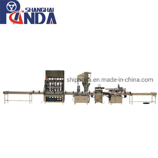 Monoblock Glass Bottle Paste Filling Capping Machine / Tomato Chili Sauce Manufacturing Bottling Production Line