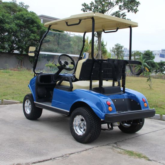 Electric Utility Car Del3022g, 2-Seater Blue