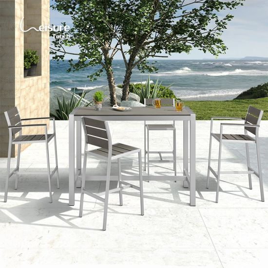 China Bar Height Patio Furniture 5, Outdoor Bar Height Pub Tables