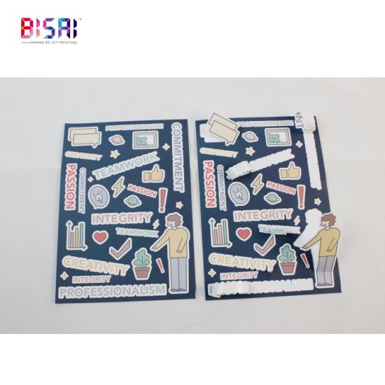 Custom Digital Printing Self Adhesive 3m Textured Surfaces Ij8624 Vinyl Sticker