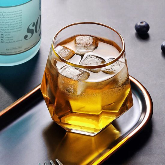 Crystal Beer Glass, Whisky Glass, Cold Drink Glass, Diamond Shaped Glass