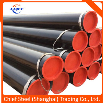 Longitudinal Submerged Arc Welded Carbon Steel Pipe API5l / ASTM A252 / ASTM A53 /En10219