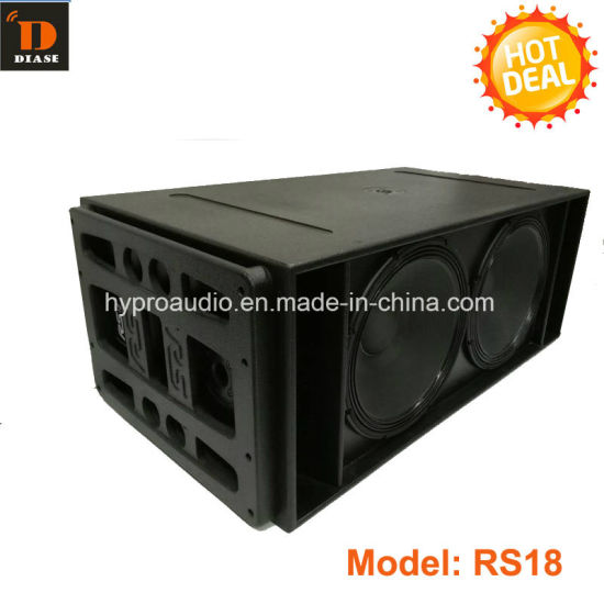 Line Array Subwoofer RS18 Dual 18 Inch