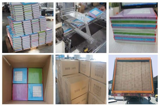 Wholesale Cheap School Student Exercise Notebook pictures & photos