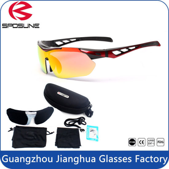 02fabe9b894 Factory Online Supplier 5 Interchangeable Lens Cycling Sports Eyewear  pictures   photos