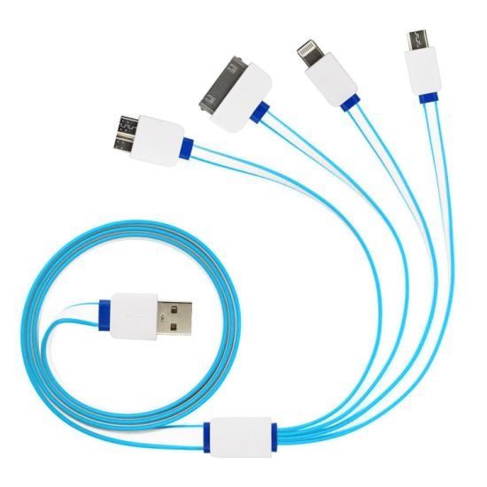 Good Quality 4 in 1 Multifunctional Universal USB Data Cable
