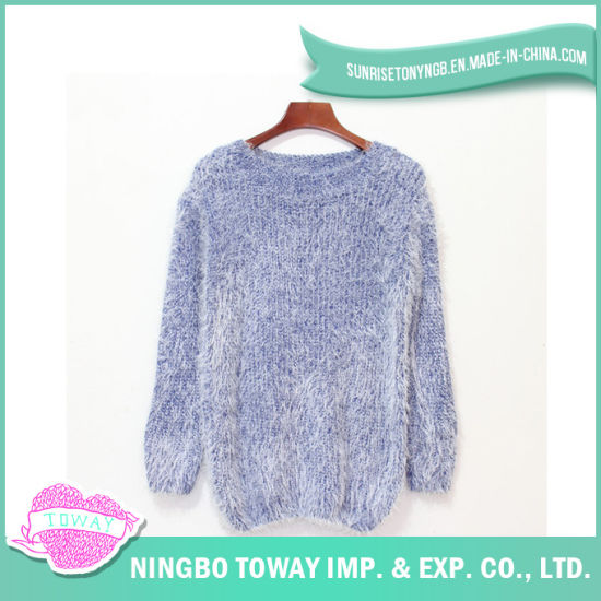 d431721e1 China Acrylic Color Wool Knitting Fashionable Girl Handmade Sweater ...