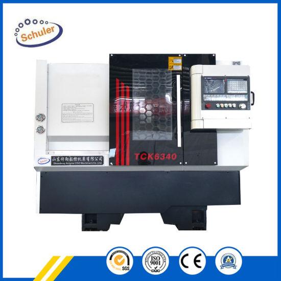 Tck6340 Tck6350 Horizontal CNC Turning Metal Lathe Slant Bed High Quality