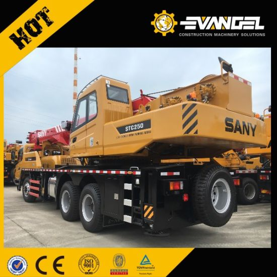 Sany Truck Mounted Crane 25 Ton Truck Crane Stc250 pictures & photos