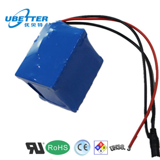 China 12V 14A Lithium Ion Battery Pack Replace for Lead-Acid