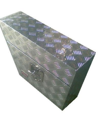 Checker Plate Aluminium Tool Box - Truck Cars Storage