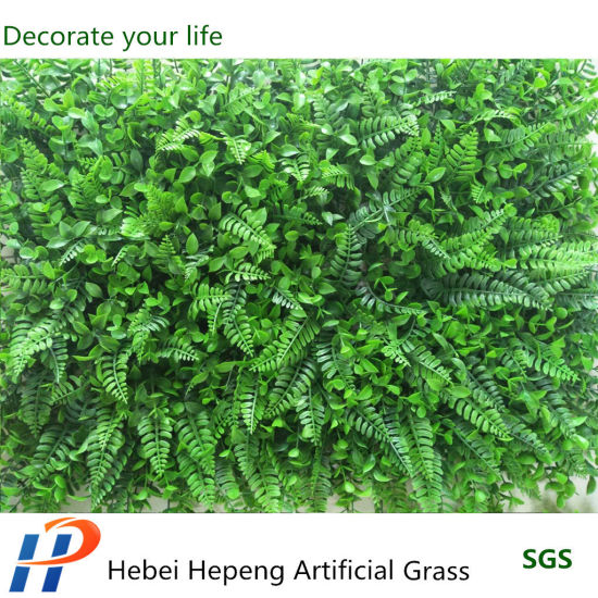 Vertical Artificial Flower and Artificial Grass Wall for Wall Decoration
