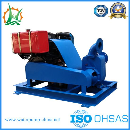Self-Priming Diesel Engine Pump Station for Agricultural Spraying pictures & photos