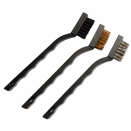 Hand Tools Mini Wire Brush Set OEM for Construction 3PCS pictures & photos