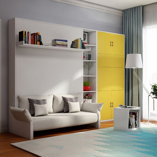 China Suppliers Modern Smart Furniture Folding Murphy Bed Space
