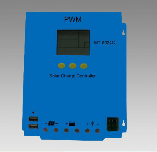 (HM-1260) Guangzhou Factory 12V/24V60A PWM LCD Screen Solar Charge Controller pictures & photos