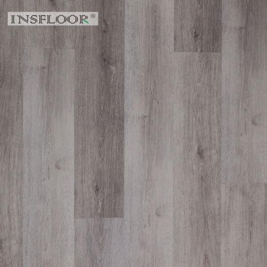 Light Embossing Tile Plank Flooring for Apartment