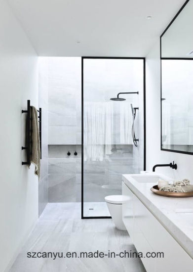 Beau 6mm Frosted Glass Partition Frosted Glass Safety Tempered Shower Glass