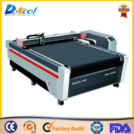 Carton Box Sample Cutting Plotter with Crease Wheel Price Package Oscillating Cutting Machine pictures & photos