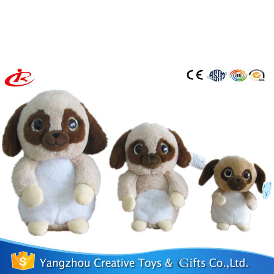 Cute Standing Dog Plush Toys