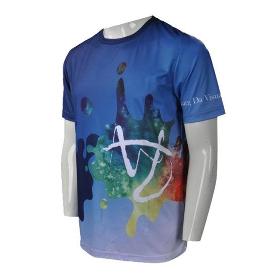 Make Your Own Design Sublimation Custom T Shirt Printing For Men