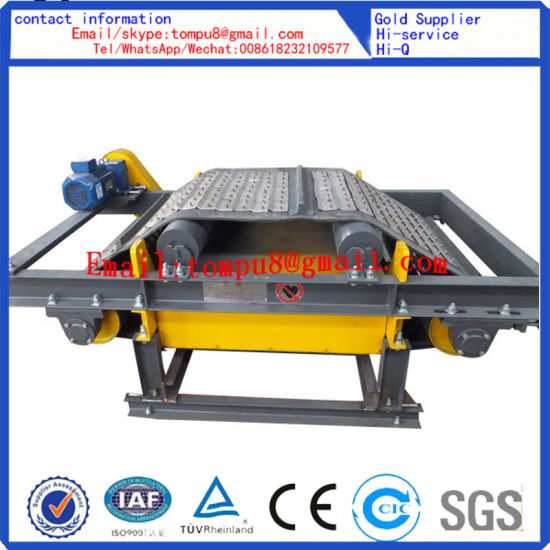 Belt Conveyor Iron Ore Electro Magnetic Separator pictures & photos