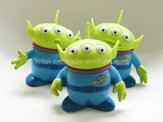 China Inflatable Colorful Wholesale Small PVC Plastic Alien Kids