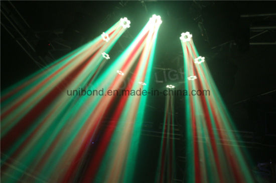 Colorful 6PCS*10W LED Moving Head Beam Light Bee Eye for Party Light pictures & photos