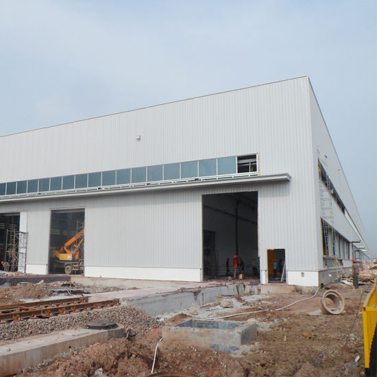 Customized Prefabricated Steel Structure Building Low Cost Factory Workshop Warehouse pictures & photos