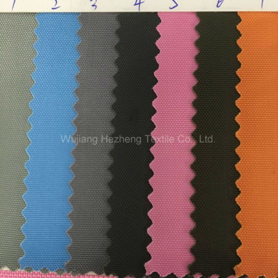 150d Polyester Oxford Fabric Coated with PVC pictures & photos