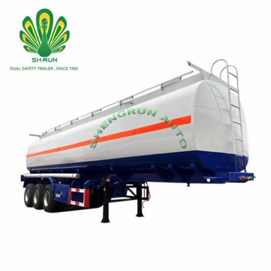 Carbon Steel Oil Fuel Tank Tanker Semi Trailer for Sale