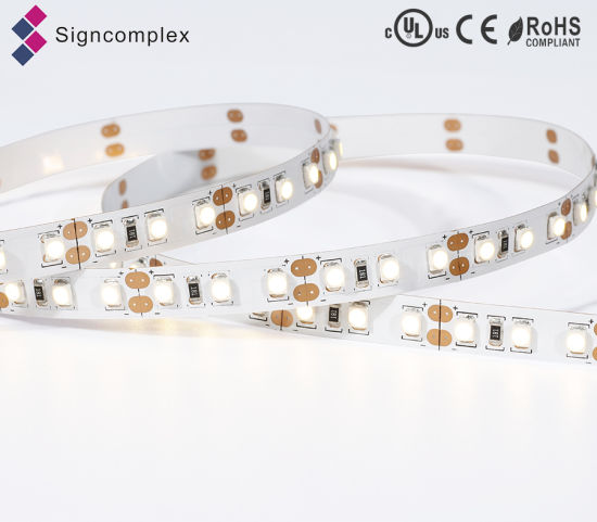 Hot Sale Economic Full Color Slim LED Strip, LED Flexible Strips 3528 with Ce RoHS pictures & photos