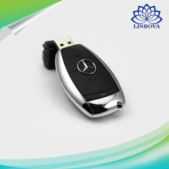 China Creative Pen Drive U Disk Mercedes Benz Key Usb Flash Drive