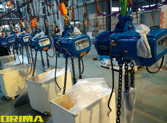 Brima 1t Fixed Type Single Speed Electric Chain Hoist pictures & photos