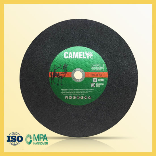 70m/S Cutting Wheel for Steel with 355mm Size