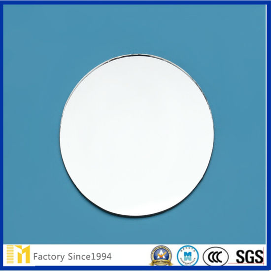 2mm-8mm High Quality Vinyl Backed Safety Silver Mirror for Decoration