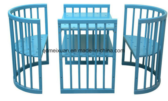 Manufacturers Wholesale Wood Cribs Multi-Function Removable Crib Baby Bed (M-X3743)